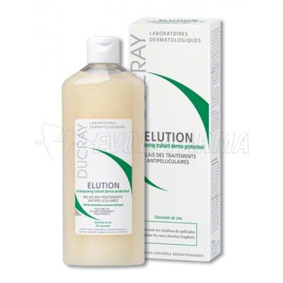 DUCRAY ELUCION CHAMPÚ DERMO-PROTECTOR. 400 ml
