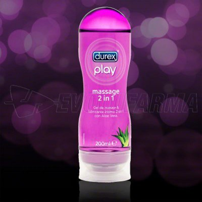 DUREX PLAY GEL MASSAGE HIDRATANTE. 200 ml
