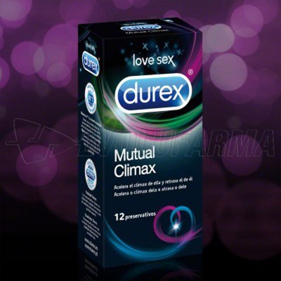 DUREX PRESERVATIVO MUTUAL CLIMAX. 12 Unidades