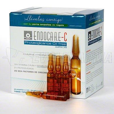 ENDOCARE C PROTEOGLICANOS OILFREE.  30 ampollas 2 ml