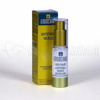 ENDOCARE CONTORNO DE OJOS y LABIOS Dosificador 15 ml.