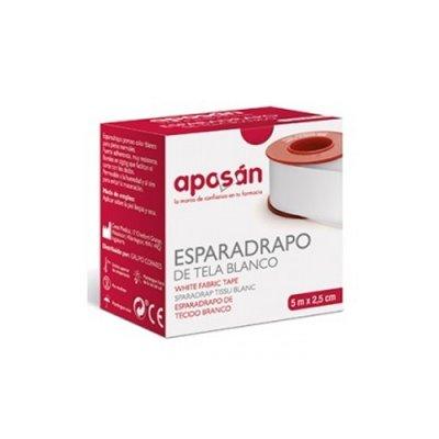 ESPARADRAPO APOSAN TELA PIEL 5 X 2,5 CM