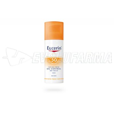 EUCERIN SUN GEL-CREME OIL CONTROL DRY TOUCH FPS 50+. 50 ml