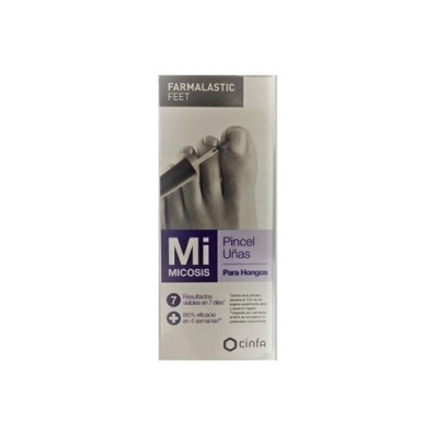 FARMALASTIC FEET MICOSIS TRATAMIENTO HONGOS UÑAS  PINCEL 4 ML