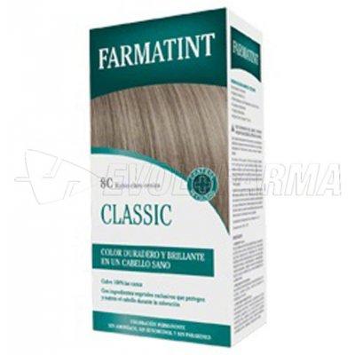 FARMATINT CLASSIC TINTE CENIZA 8C RUBIO CLARO CENIZA. 135 ml