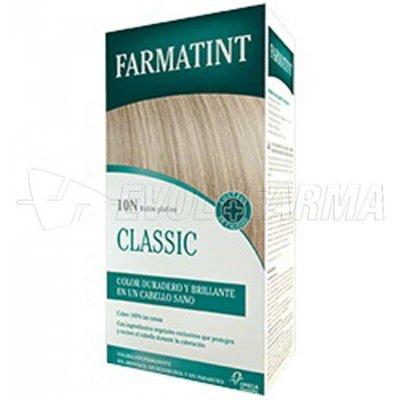 FARMATINT CLASSIC TINTE NATURAL 10N RUBIO PLATINO. 135 ml