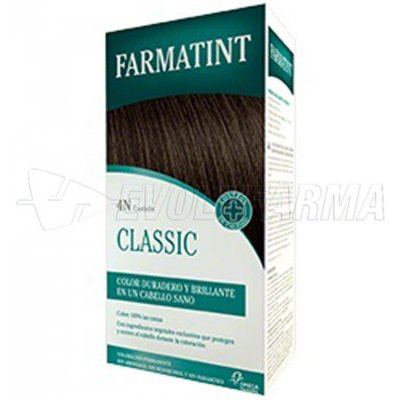 FARMATINT CLASSIC TINTE NATURAL 4N CASTAÑO. 135 ml