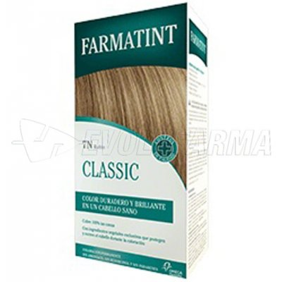 FARMATINT CLASSIC TINTE NATURAL 7N RUBIO. 135 ml