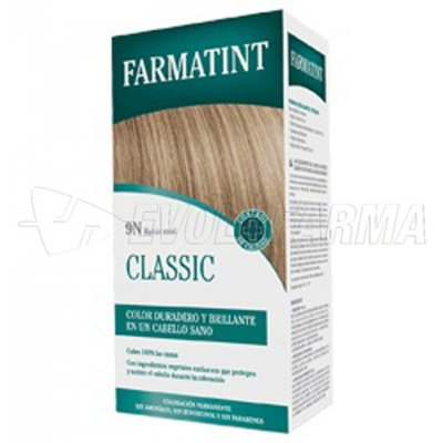FARMATINT CLASSIC TINTE NATURAL 9N RUBIO MIEL. 135 ml