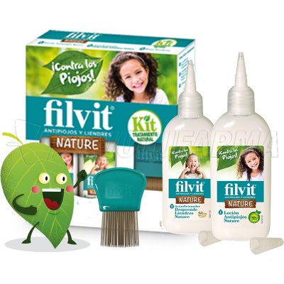 FILVIT KIT NATURE LOCIÓN + ACONDICIONADOR. 125 ml + 125 ml