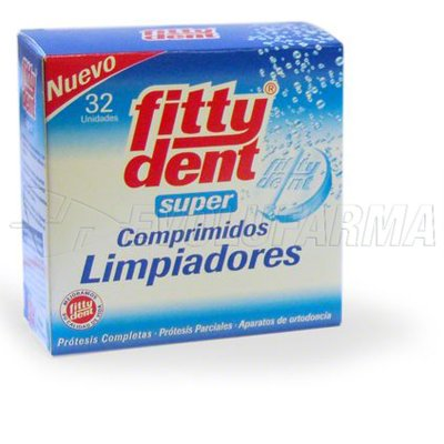 FITTYDENT SUPER COMP LIMPIEZA PROTESIS DENTAL. 32 Comprimidos
