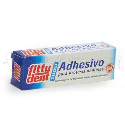 FITTYDENT SUPERADHESIVO PROTESIS DENTAL ADHESIVO. 40 ml