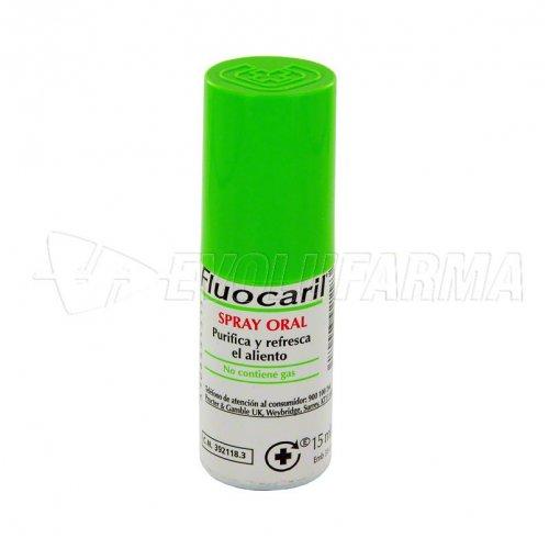FLUOCARIL SPRAY ORAL. Envase 15 ml.