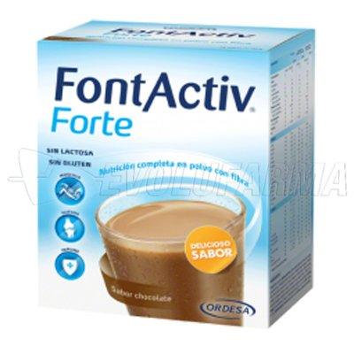 FONTACTIV FORTE SABOR CHOCOLATE. 30 g 14 Sobres
