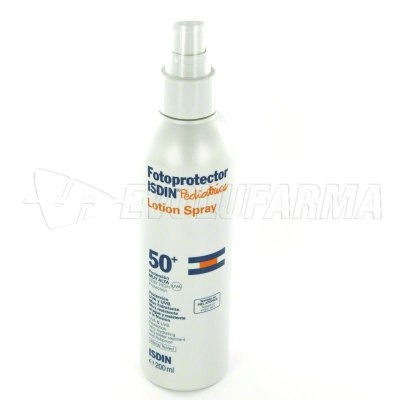 FOTOPROTECTOR ISDIN PEDIATRICS LOTION SPRAY - SPF 50+ - Spray 200 ml.