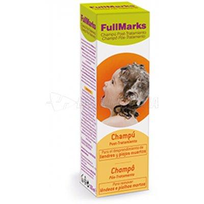 FULLMARKS CHAMPÚ POST- TRATAMIENTO PEDICULICIDA. 150 ml