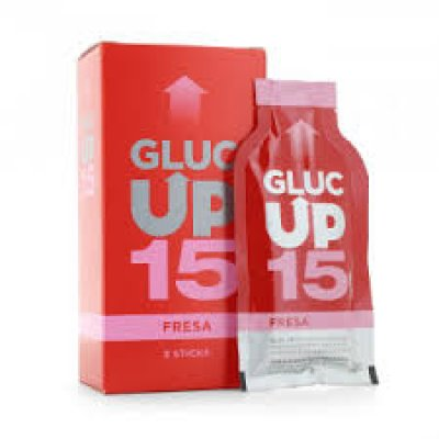 GLUC UP 15 FRESA 5 STICKS 15 G