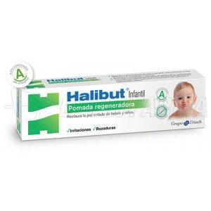 HALIBUT POMADA REGENERADORA INFANTIL. 45 g
