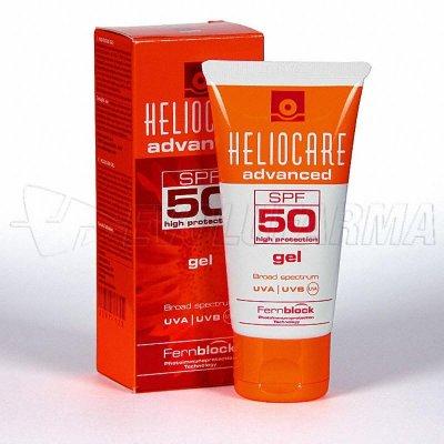 HELIOCARE 50 GEL - SPF 50 - Tubo de 50 g.