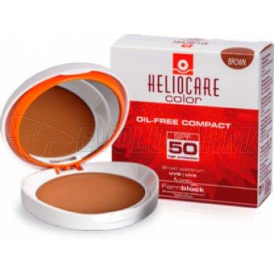 HELIOCARE SPF 50 COMPACTO OIL FREE BROWN. 10 g