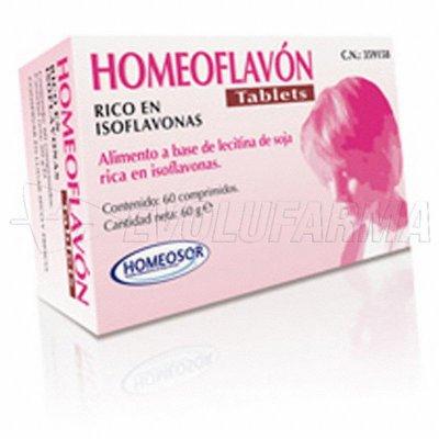 HOMEOSOR HOMEOFLAVÓN TABLETS. 60 comprimidos de 1 g.