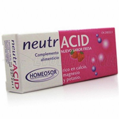 HOMEOSOR NEUTRACID. 40 comprimidos de 1,250 g.