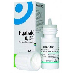 HYABAK 0.15% SOLUCION HIDRATANTE LENTES DE CONTACTO 10 ML