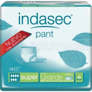 INDASEC PANT SUPER TALLA GRANDE, 14 Unidades