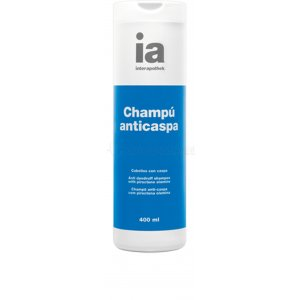 INTERAPOTHEK CHAMPÚ CABELLO ANTICASPA. 400ml