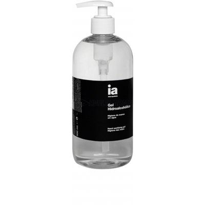 INTERAPOTHEK GEL HIDROALCOHÍLICO. 500ml