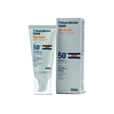 ISDIN FOTOPROTECTOR GEL CREAM DRY TOUCH SPF 50+. 50 ml