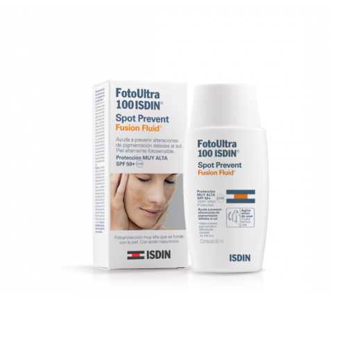 ISDIN FOTOULTRA ACTIVE UNIFY COLOR FUSION FLUID SPF 100+