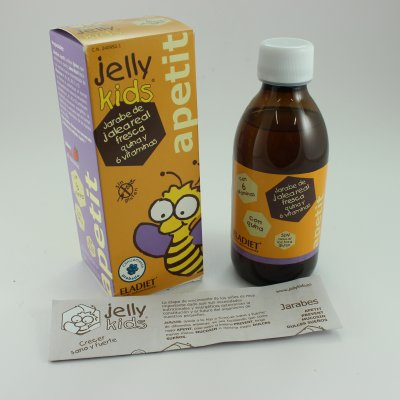 JELLY KIDS APETIT JALEA REAL 250 ML SABOR FRESA