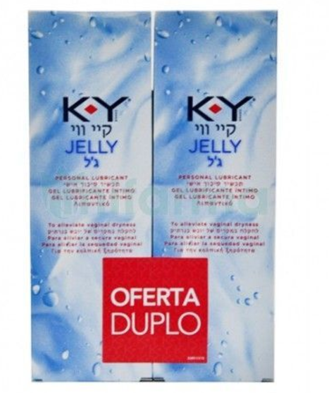 K-Y GEL LUBRICANTE HIDROSOLUBLE INTIMO 75 ML 2 UNIDADES