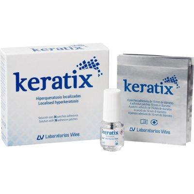 KERATIX SOLUCION 25% SALICILICO 3 G + PARCHES ADH 36 PARCHES + PINCEL