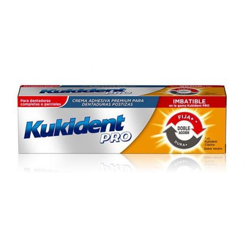 KUKIDENT DOBLE ACCION TAMAÑO AHORRO 60GR