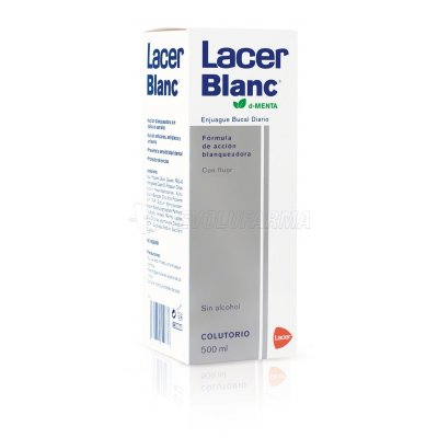 LACER BLANC PLUS COLUTORIO D-CITRUS, 500ml