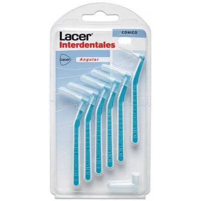 LACER CEPILLO INTERDENTAL CÓNICO ANGULAR, 6u