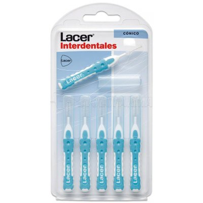 LACER CEPILLO INTERDENTAL CÓNICO,6u