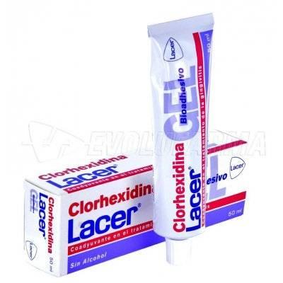 LACER CLORHEXIDINA GEL BIOADHESIVO. Envase 50 ml.
