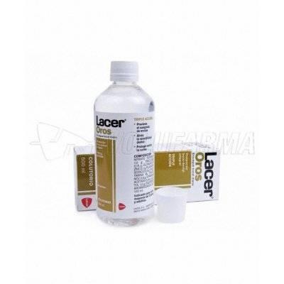 LACER OROS FLUOR COLUTORIO. Envase 500 ml.