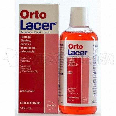 LACER ORTOLACER COLUTORIO SABOR FRESA. Envase 500 ml.
