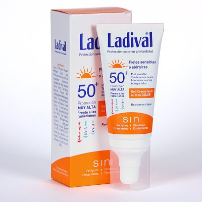 LADIVAL F30 P SENSIBLE ALERGICA GEL CREMA COLOR 50 ML