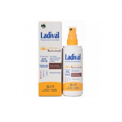 LADIVAL F30 PROTECCION Y BRONCEADO SPRAY 150 ML