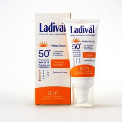 LADIVAL F50+ P SECA CREMA FLUIDA COLOR 50 ML