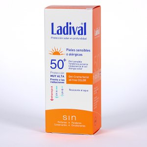 LADIVAL F50+ P SENSIBLE ALERGICA GEL CREMA COLOR 75 ML