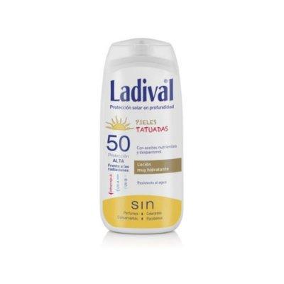 LADIVAL SOLAR LOCION 50+ TATUADA 200ML
