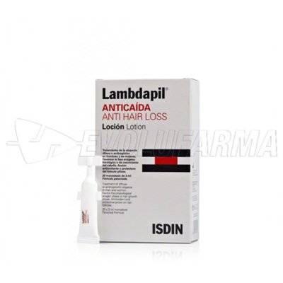 LAMBDAPIL LOCIÓN ANTICAÍDA. 20 monodosis 3ml