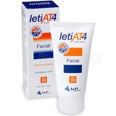 LETIAT4 FACIAL - SPF 20 - Tubo 50 ml.