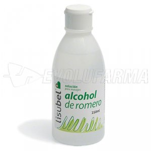 LISUBEL ALCOHOL DE ROMERO. 500g